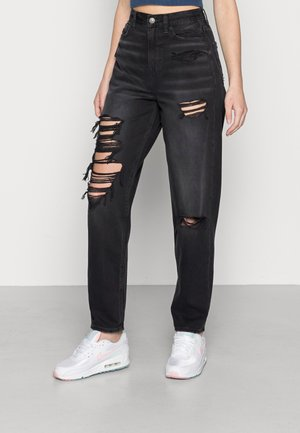 RELAXED MOM - Jeans relaxed fit - rocker black