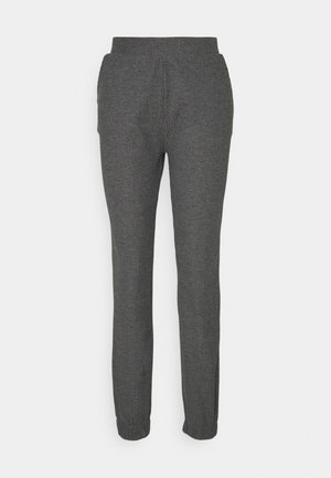 ONLNELLA PANTS - Tracksuit bottoms - dark grey melange