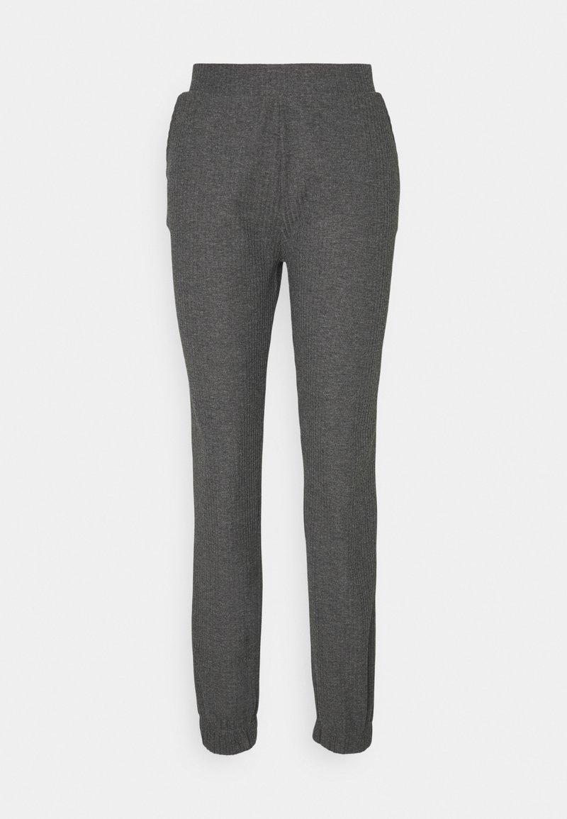 ONLY Tall - ONLNELLA PANTS - Tracksuit bottoms - dark grey melange