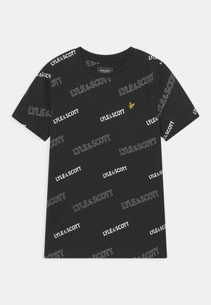 OUTLINE  - Print T-shirt - black