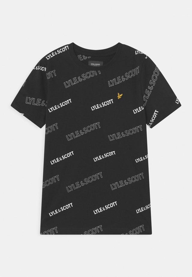 OUTLINE  - T-shirt print - black