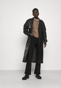 2nd Day - EDITION GRAF - Leather jacket - jet black - 1