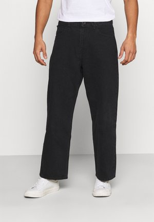 BILLOW  - Relaxed fit jeans - black