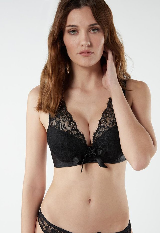 PUSH-UP-BH SIMONA CHARME FATAL - Push-up bra - nero