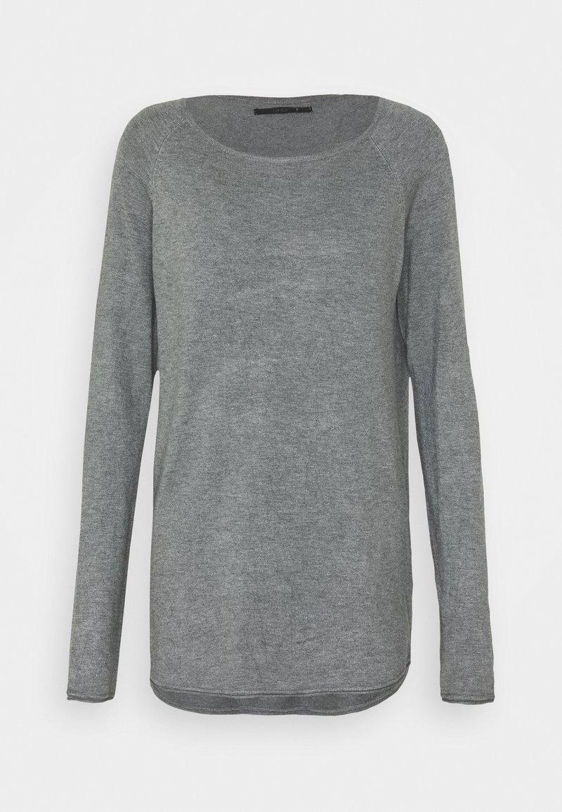 ONLY Tall - ONLMILA LONG - Jumper - medium grey melange