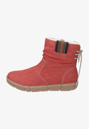 Winter boots - ziegel