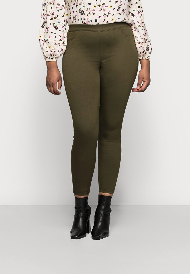 Marks & Spencer London - Jeans Skinny Fit - khaki