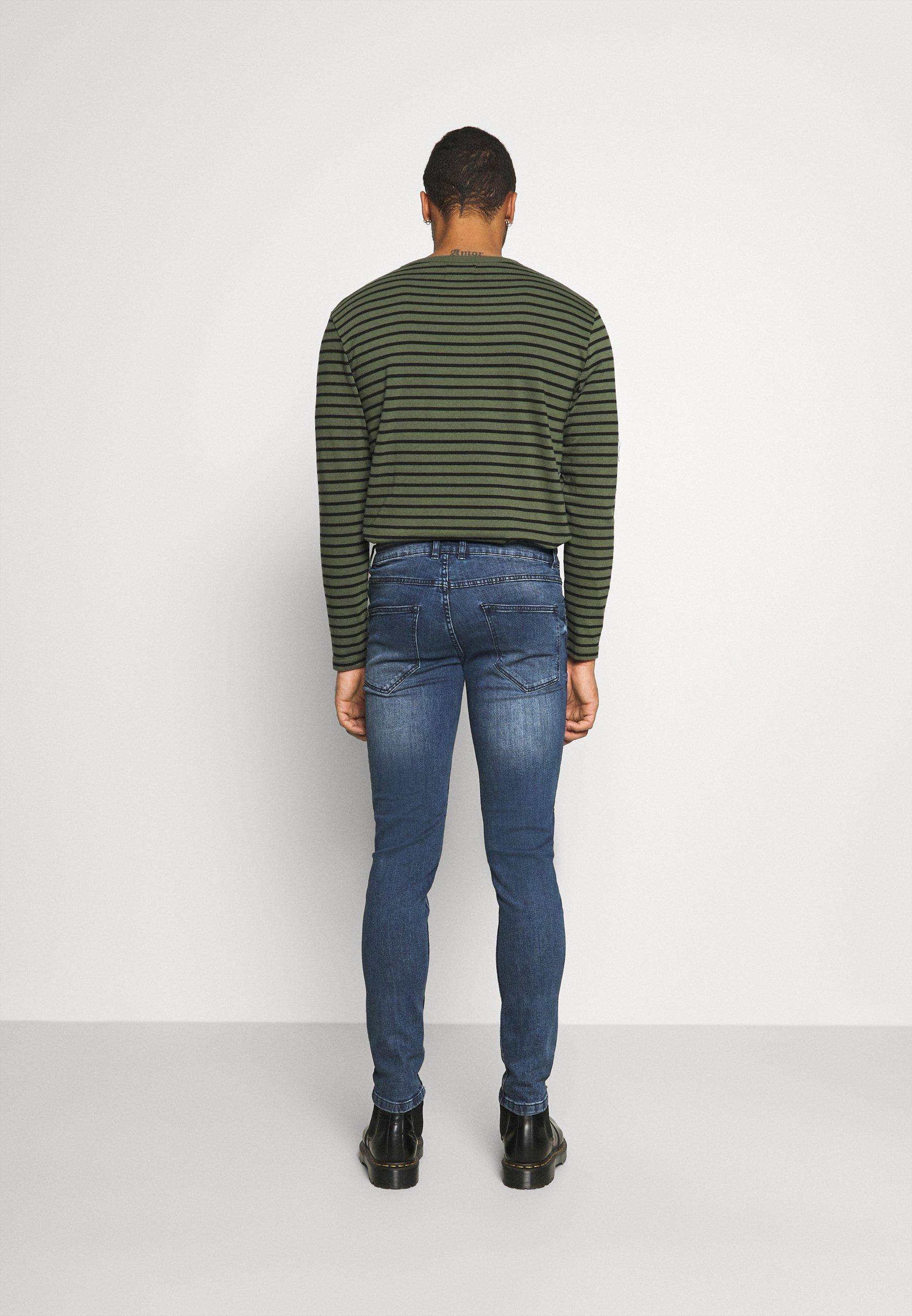 Redefined Rebel Stockholm - Jeans Slim Fit Driver Blue