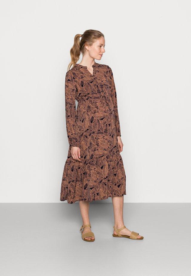 MLDEE MIDI DRESS - Denní šaty - navy blazer