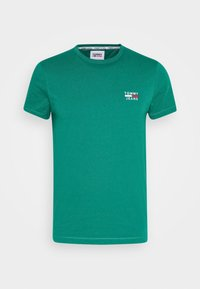 Tommy Jeans - CHEST LOGO TEE - T-shirt con stampa - midwest green - 3
