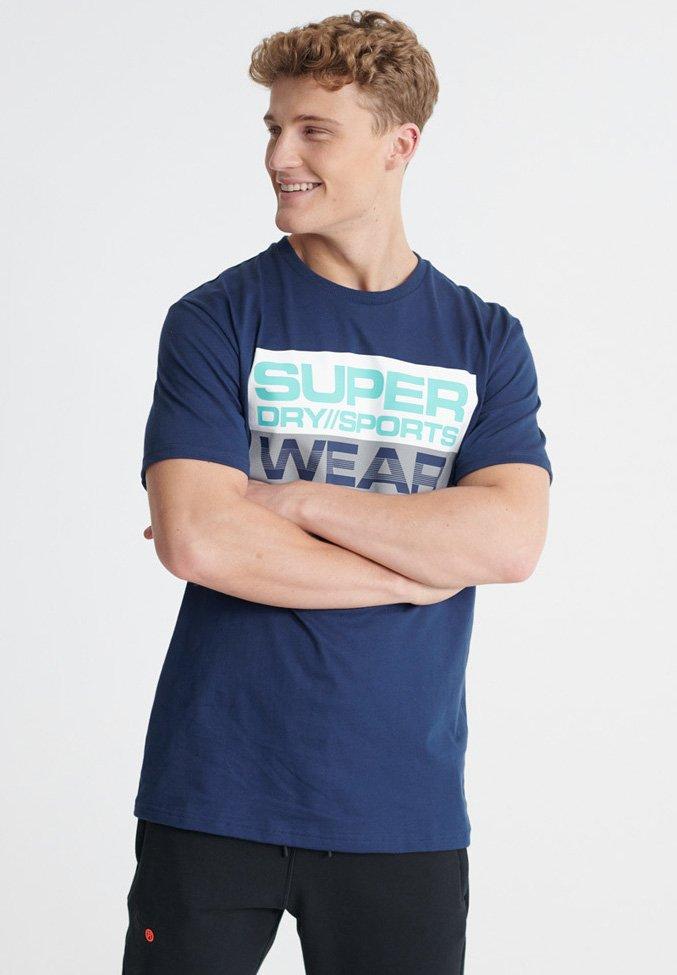 Homme SUPERDRY STREETSPORT GRAPHIC T-SHIRT - T-shirt imprimé
