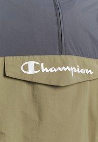 Champion - COLOR BLOCK - Träningsjacka - grey/khaki - 2