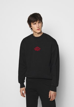ARTWORK CREW - Sweatshirt - faded black/red