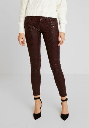 PIXIE VIPER - Trousers - burgundy