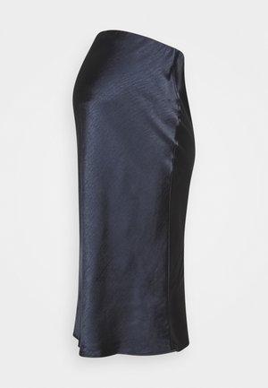 LEXIE SKIRT - Áčková sukně - navy