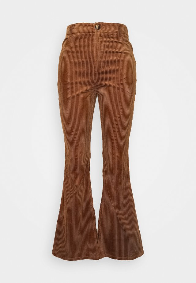 LADIES TROUSERS - Kalhoty - brown
