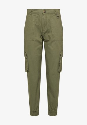 Cargo trousers - military green