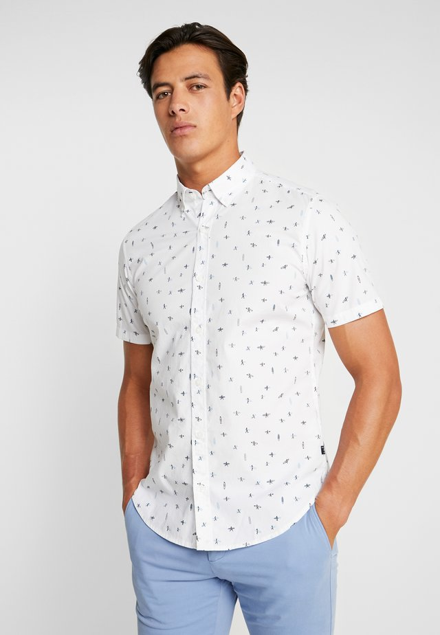 SLIM FIT - Shirt - white