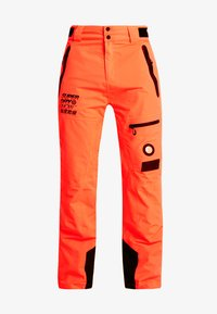 Superdry - PRO RACER RESCUE PANT - Täckbyxor - hazard orange - 6