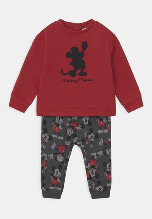 MICKEY SET - Tuta - pompeian red