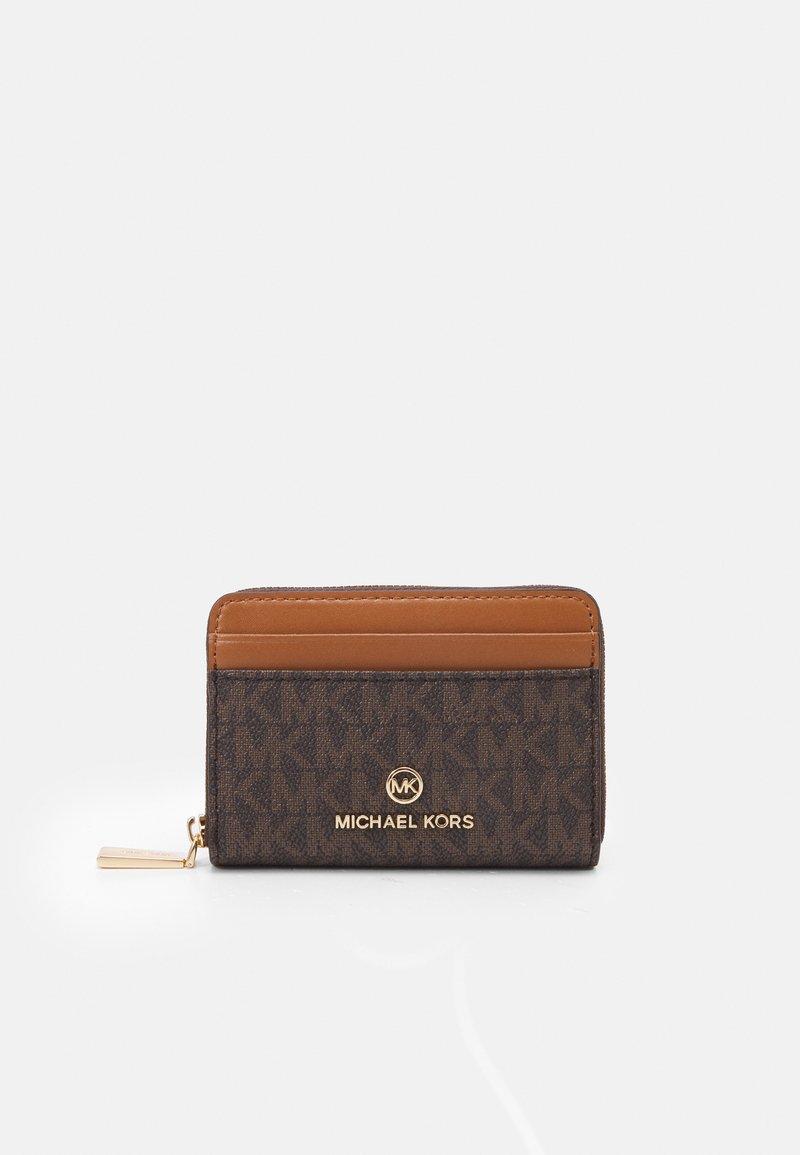 MICHAEL Michael Kors - JET SET CHARM COIN CARD CASE - Wallet - brown/acorn