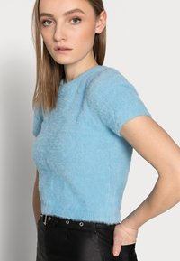 Glamorous Petite - Basic T-shirt - blue - 3