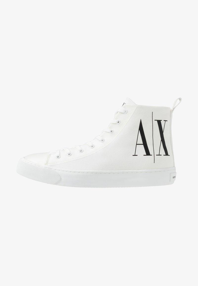 Armani Exchange - Sneakers alte - optical white