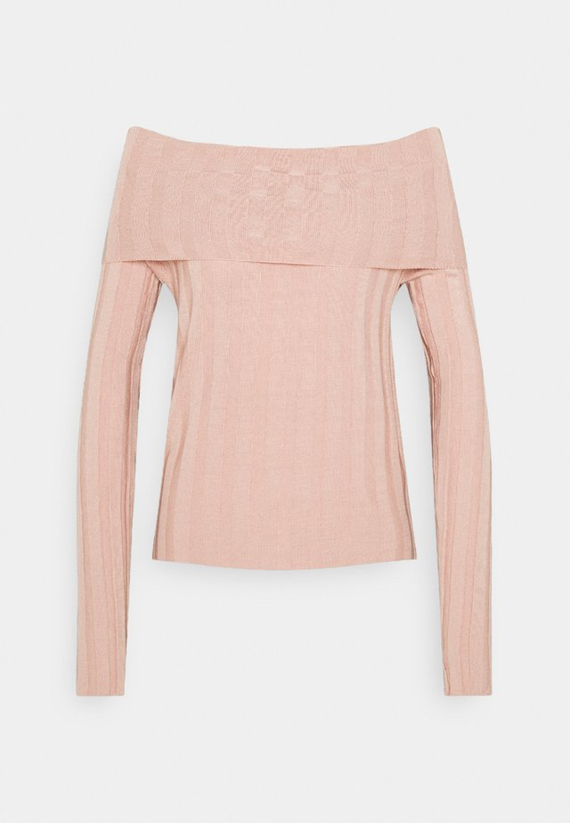 Jumper - powder pink