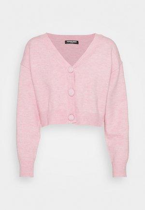 EFFY CARDI - Cardigan - pink