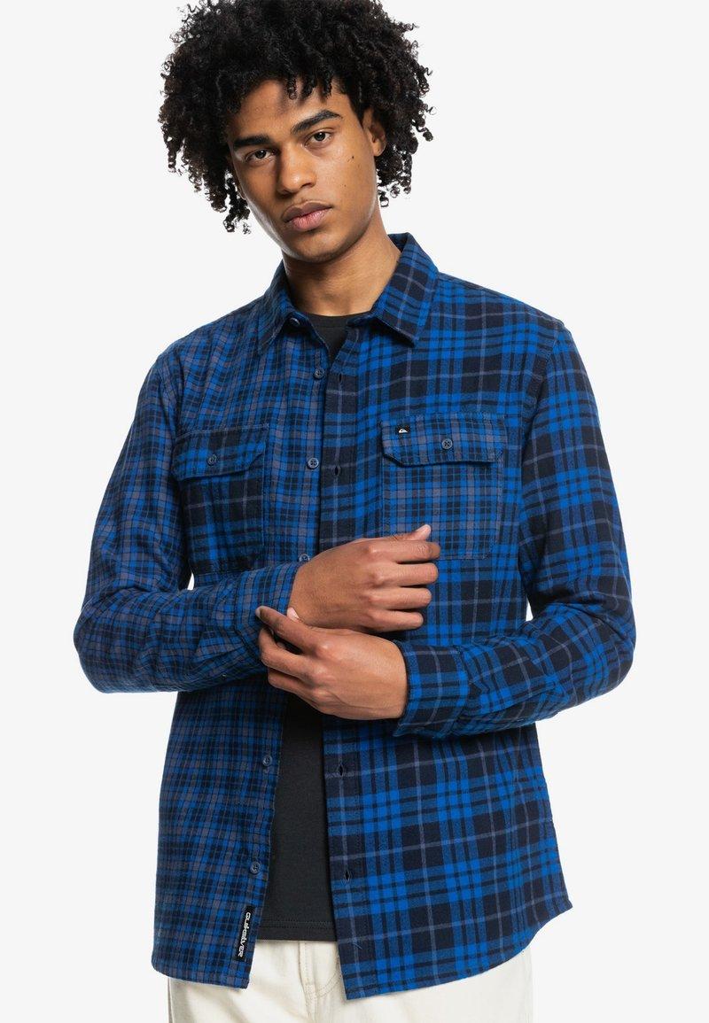 Quiksilver - STRATTON - Shirt - classic blue stratton
