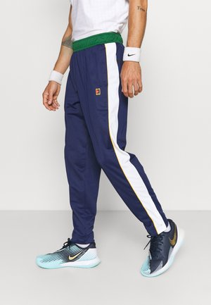 HERITAGE SUIT PANT - Tracksuit bottoms - binary blue/gorge green/white