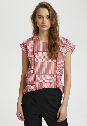 KAPARRIS BLOUSE - Top - high risk red