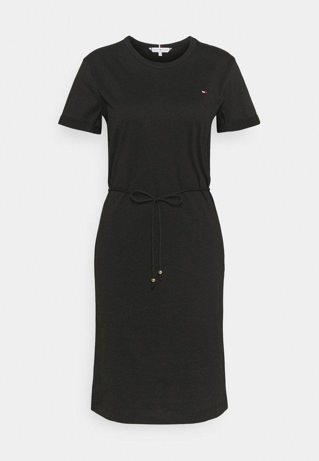 COOL SHORT DRESS - Jerseyjurk - black
