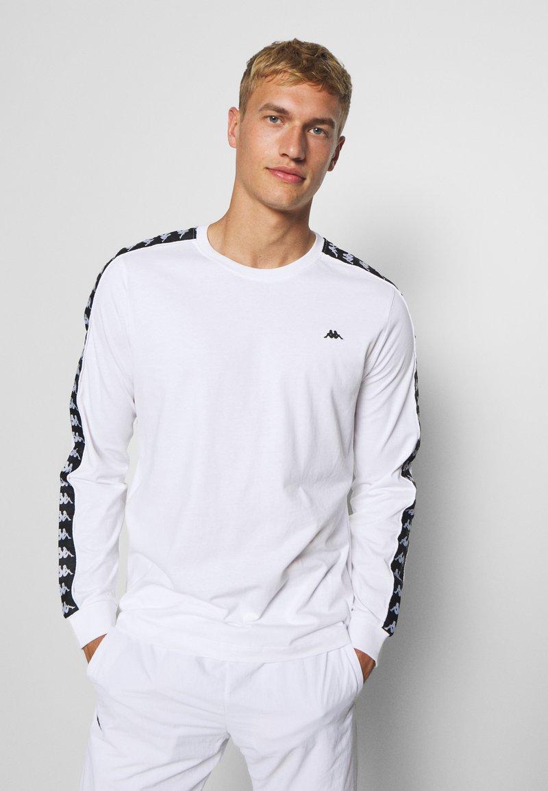 Kappa - HAIMO LONGSLEEVE - Long sleeved top - bright white