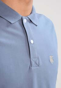 Selected Homme - SLHARO EMBROIDERY - Polo shirt - blue mirage - 3