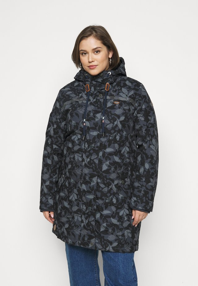 TAWNY CAMO PLUS - Parka - anthracite