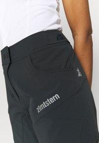 Zimtstern - TAILA EVO SHORT - Sports shorts - pirate black/gun metal - 4