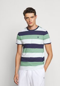 Print T-shirt - haven green