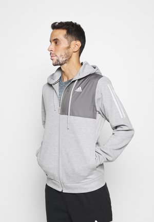 AERO  - Zip-up hoodie - medium grey heather