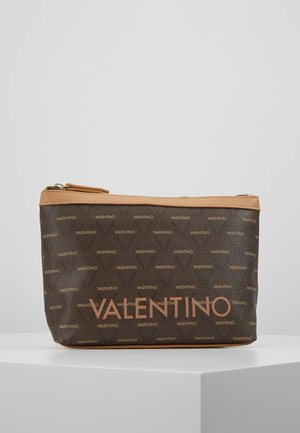 LIUTO - Wash bag - brown/multi