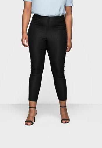 VMAUGUSTA SKINNY SOLID PANT - Leggings - Trousers - black