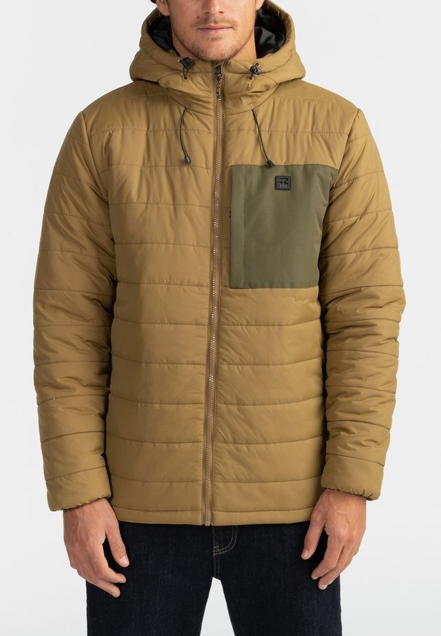 Winter jacket - clay