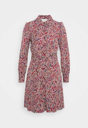 LUSH GARDEN - Shirt dress - dark ruby
