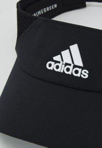 adidas Performance - VISOR UNISEX - Kšiltovka - black/white - 3