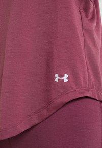 Under Armour - WHISPERLIGHT TANK - T-shirt de sport - level purple/metallic silver - 5