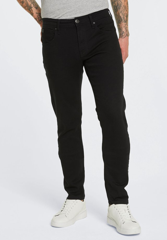HARLEM SOUL CLE-VE  - Straight leg jeans - black