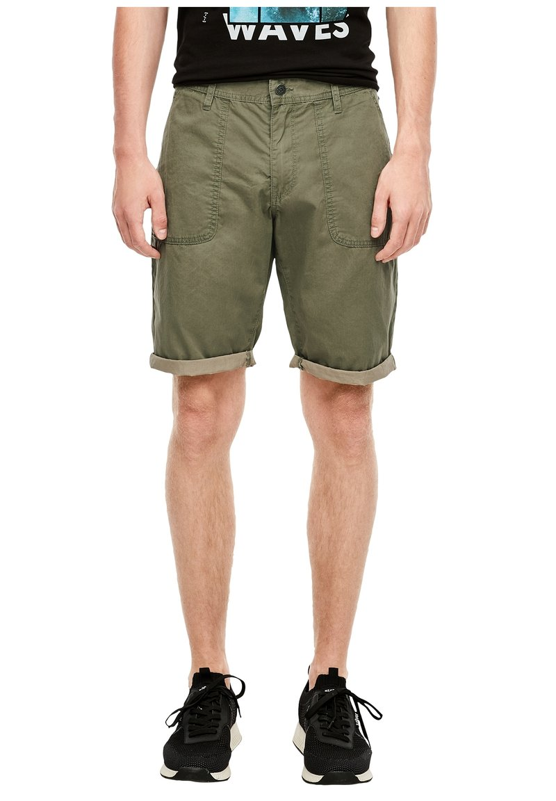 QS by s.Oliver - Shorts - thyme