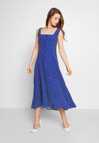 Rolla's - CLAIRE MINI TULIPS DRESS - Day dress - marine blue - 0