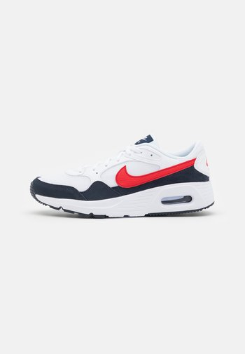 AIR MAX SC UNISEX - Sneakers basse - white/university red/obsidian