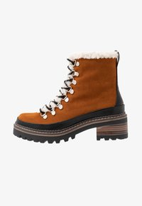 Madden Girl - JACK - Platform ankle boots - whiskey - 1